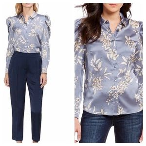 Vince Camuto Puff Sleeve Blouse Size XS